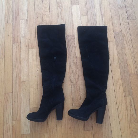 95ad28d111c Costume National Boots Suede over the knee boots bought at Barneys NYC-  worn one time