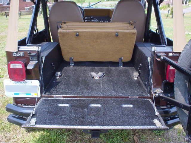 Pin By Michael Galeski On Jeep Tj In 2020 Rear Seat Jeep Cj Jeep