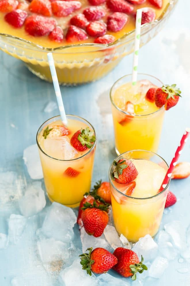 Delightful Tropical Fruit Punch RecipeFruit Juice Recipe