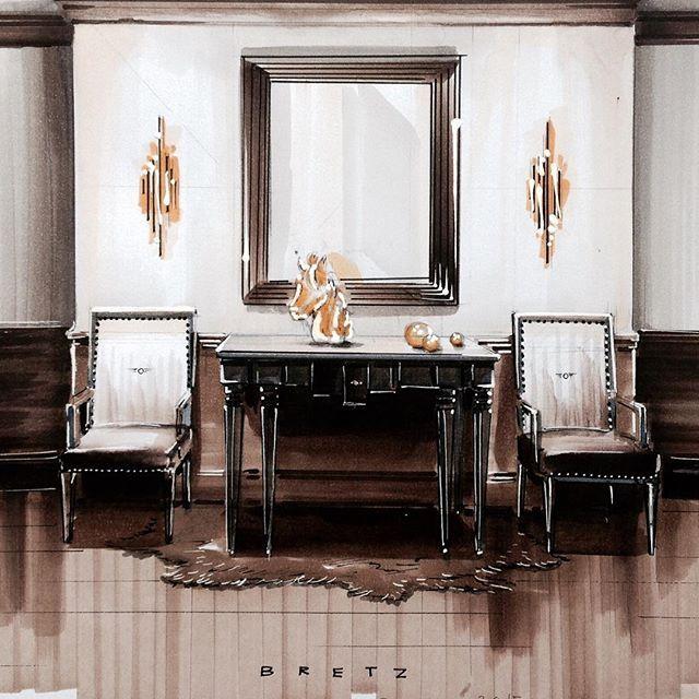 Bretz Art Kunst Sanat Interior Decor Dekorasyon Home Design Fu Learn Interior Design Interior Design Renderings Classical Interior Design