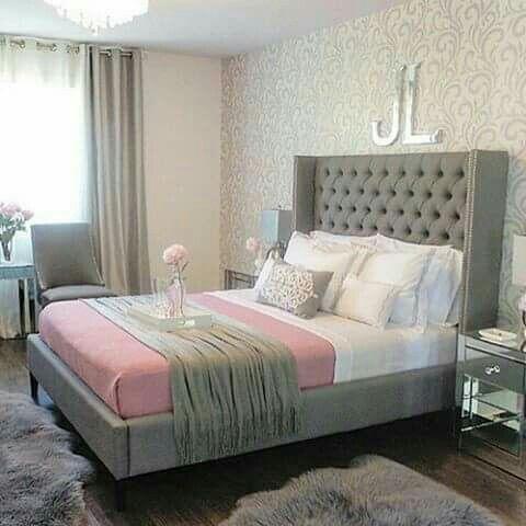 Inspiration De Chambre A Coucher Chambre Inspirationchambre Idmaison Relooking Inspirationdesign Design De Pretty Bedroom Grey Bedroom Decor Home Decor