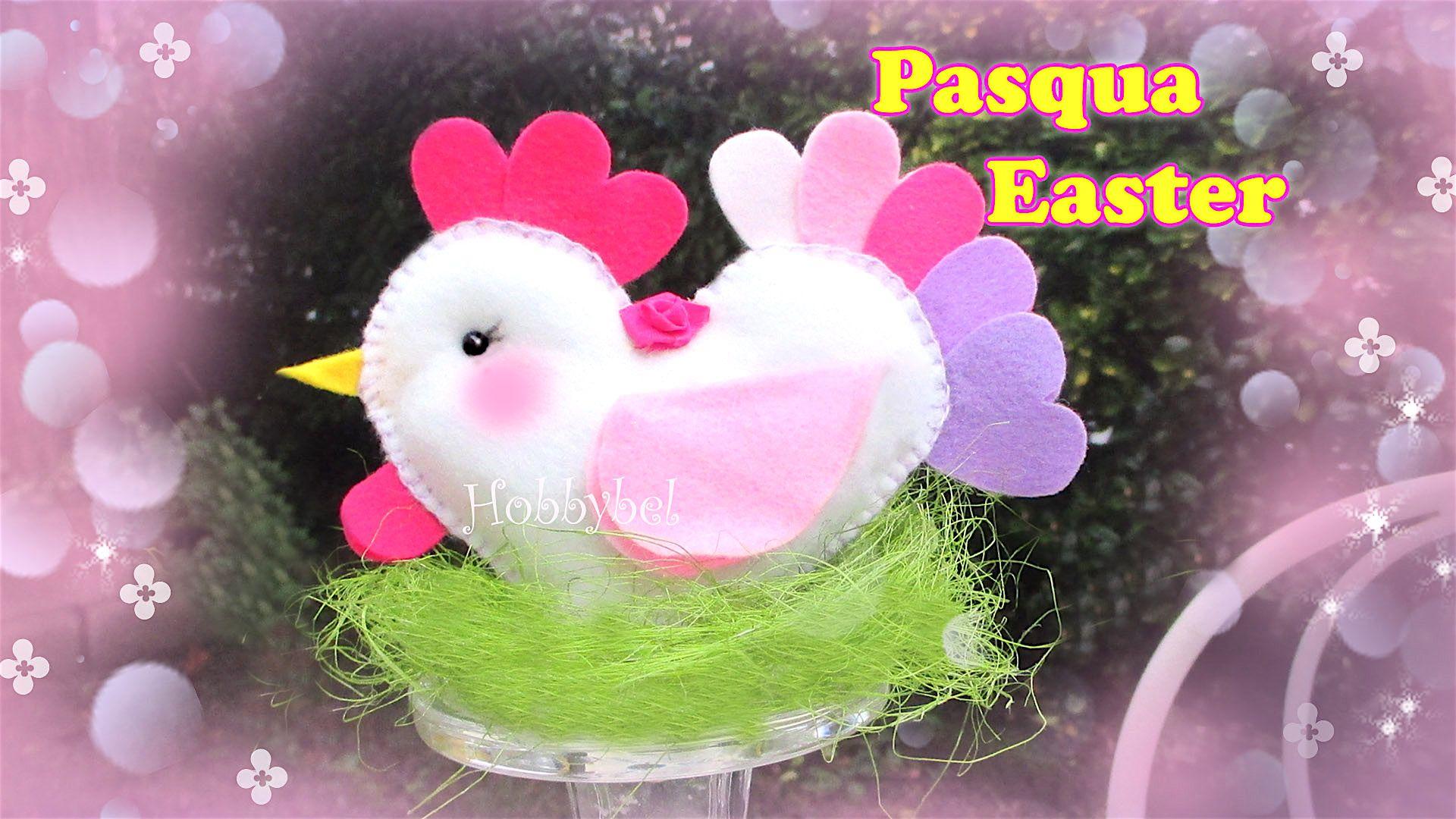 Tutorial fai da te decorazione per Pasqua gallina in