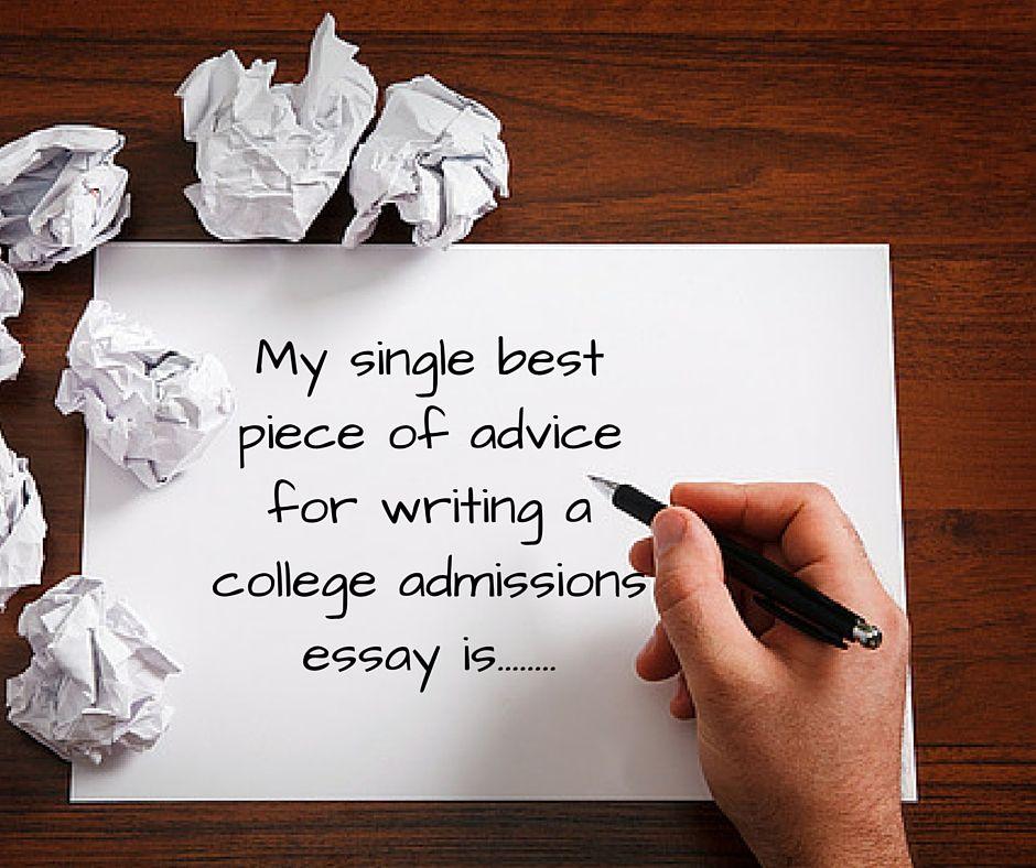 advice essay
