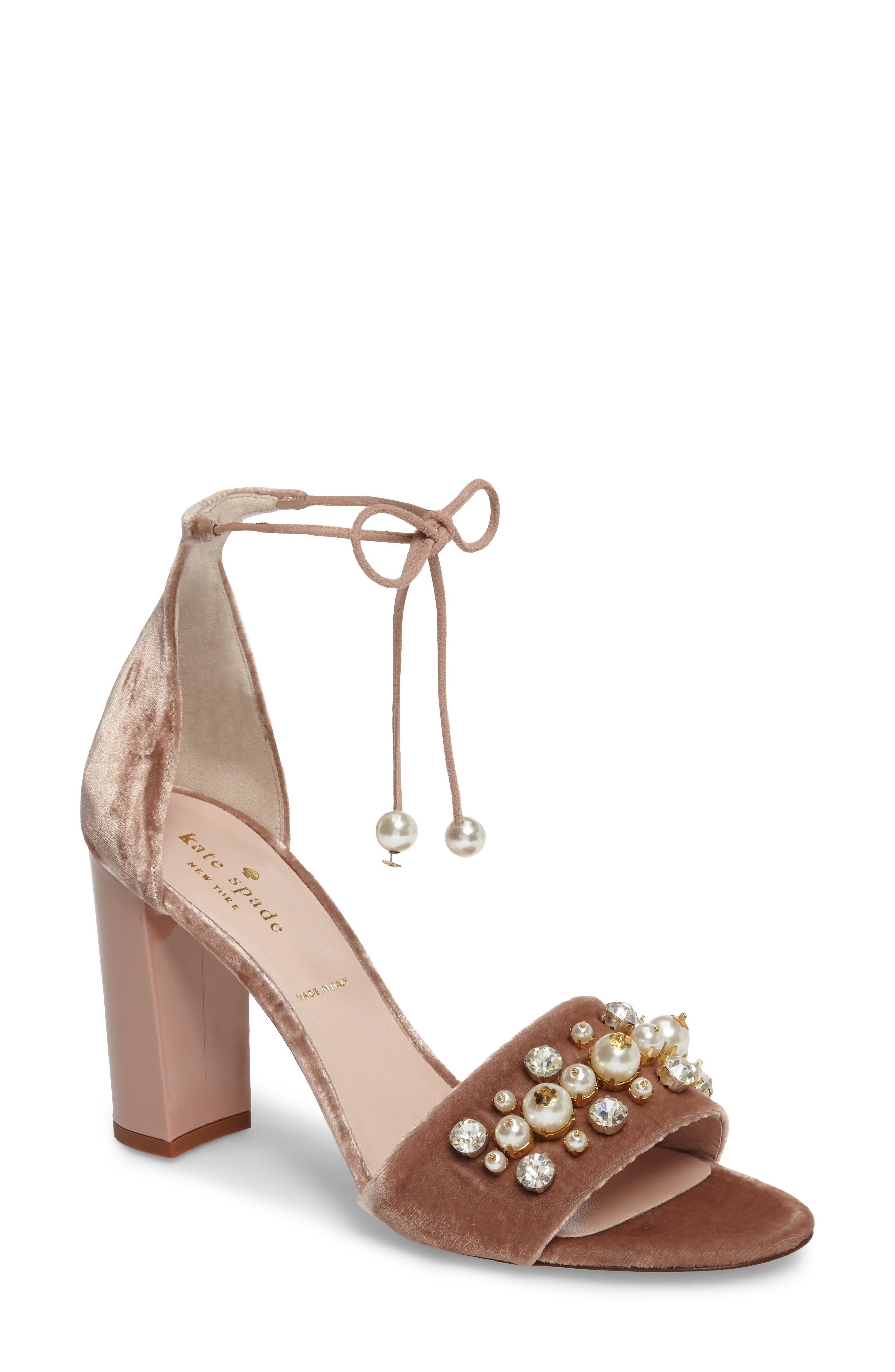 Kate Spade New York Embellished Slingback Sandals cheap sale best place official cheap online buy cheap enjoy BWn2q87AH