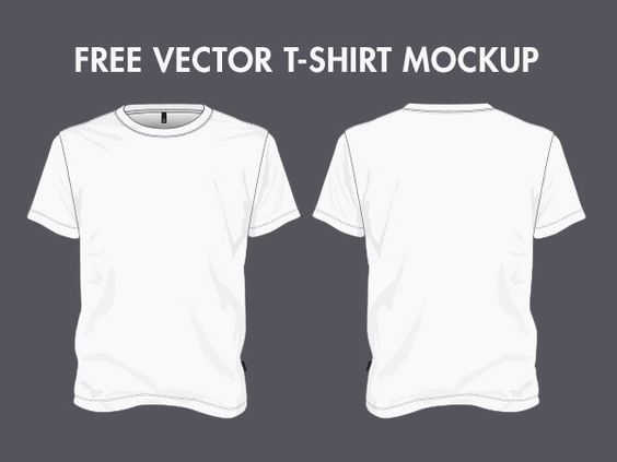 Download 50 Free High Quality Psd Vector T Shirt Mockups T Shirt Design Template Shirt Designs Shirt Template