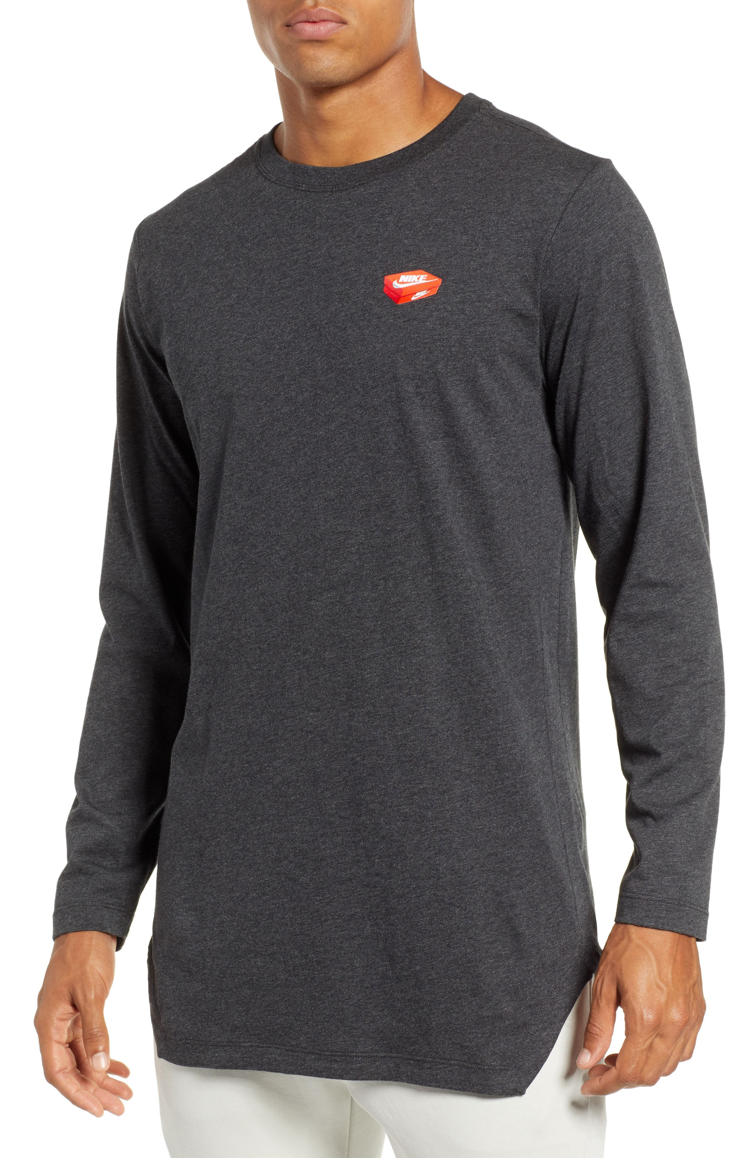 67e850c01d5d2 NIKE NSW SHOE BOX GRAPHIC LONG SLEEVE T-SHIRT. #nike #cloth | Nike ...