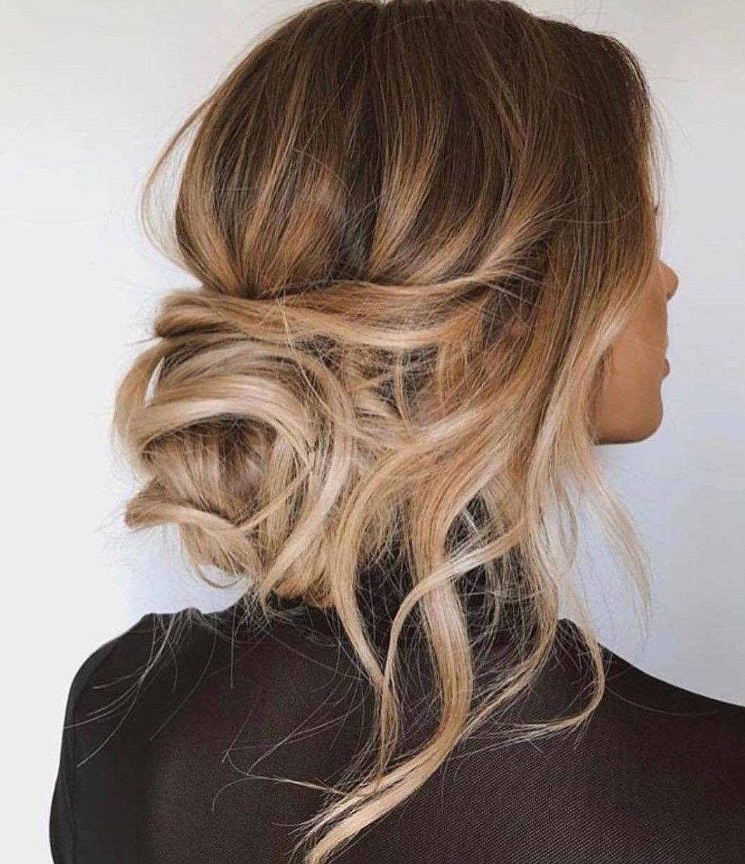 Juls Low Bun Hairstyles Updo Messy Hair Of Your