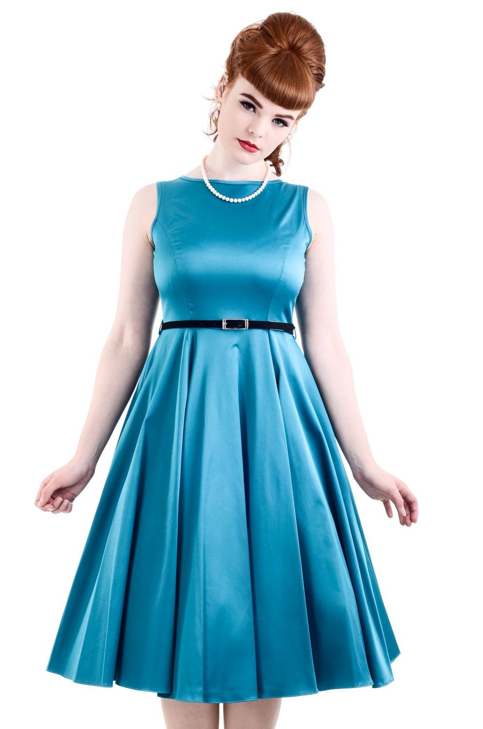 New turquoise hepburn dress 45 made in london fashion ideas for mum the famous lady vintage audrey hepburn dress features a full style flared ombrellifo Image collections