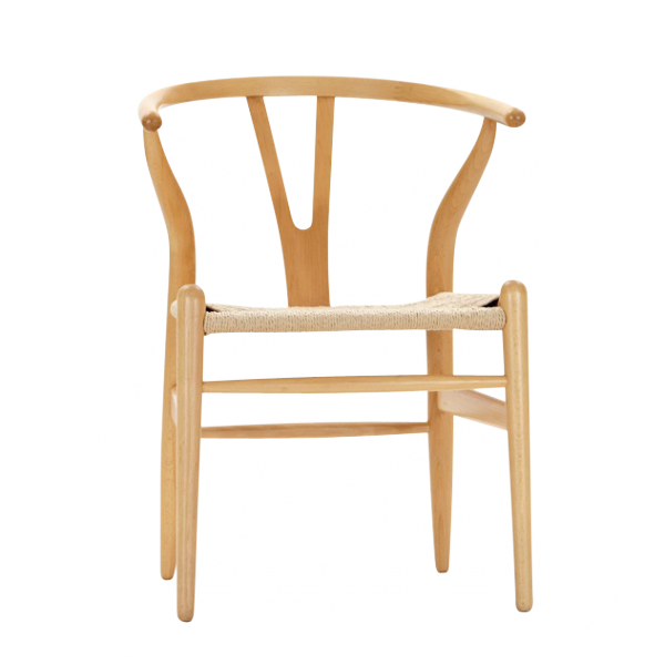 The Wishbone Chair (or YChair) is regarded by many