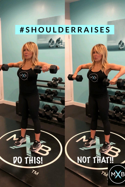Shoulder Raises Mbx Premium Personal Training Studio In Montclair Nj Workout Shoulder Raises Workout For Beginners