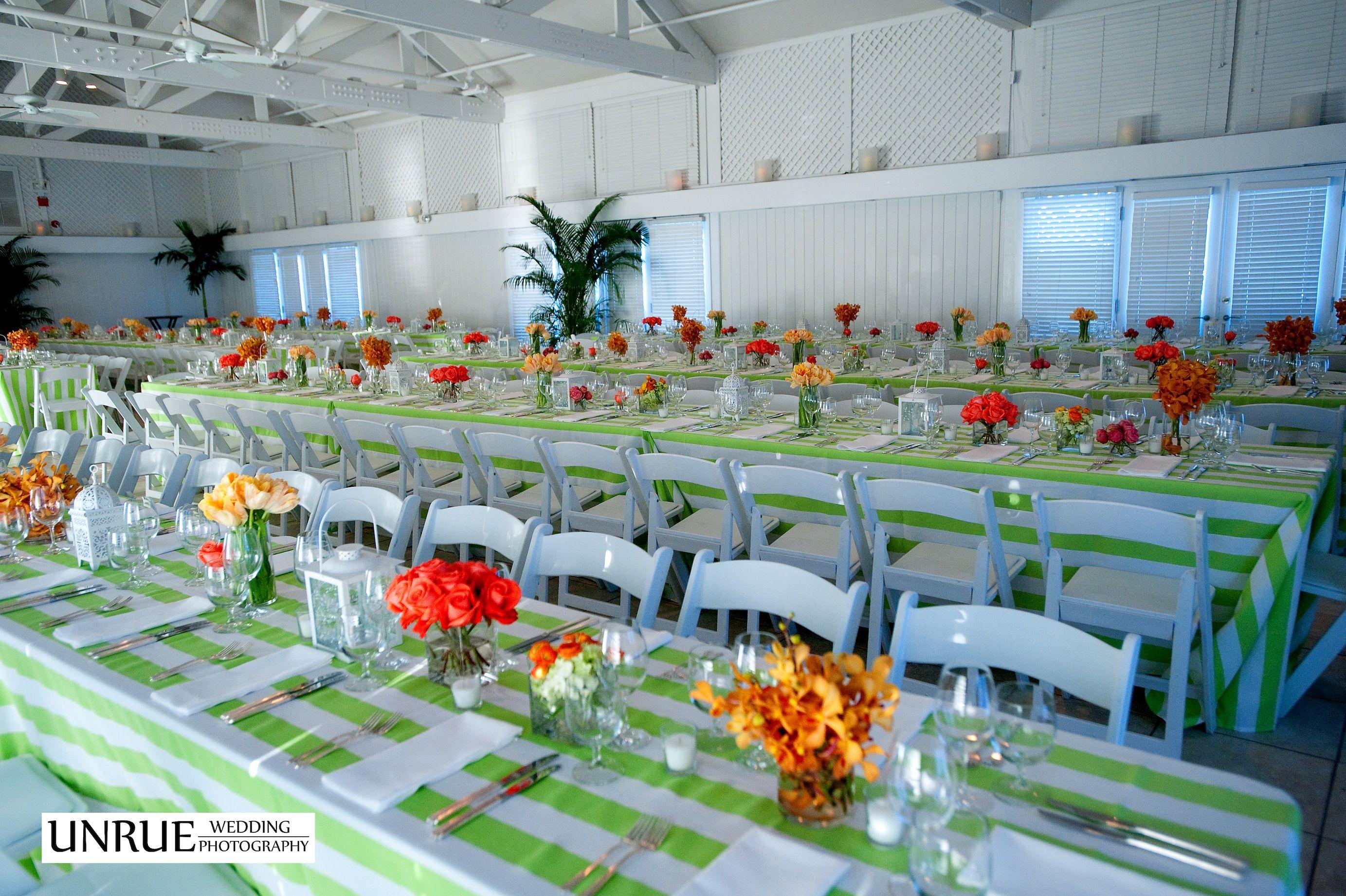 Welcome Dinner At The Gasparilla Inn Beach Club Wedding Weddingflowers Botanica Photography By