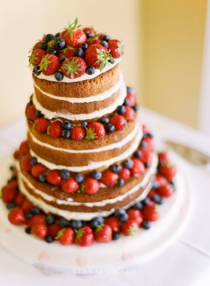 El naked cake, la tendencia más deliciosa en pasteles de