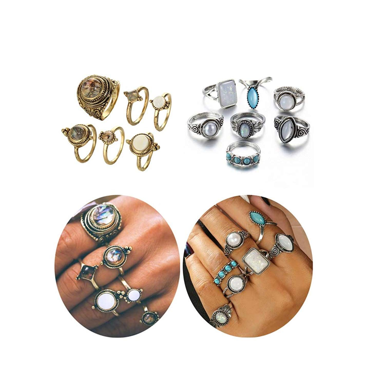 Adya Anju Patina Cuff Ring Welded Mixed Metal Design