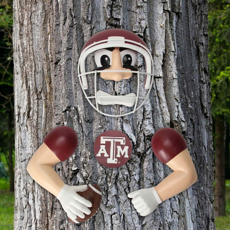 Texas A&M Aggies Player Tree Face - $24.99
