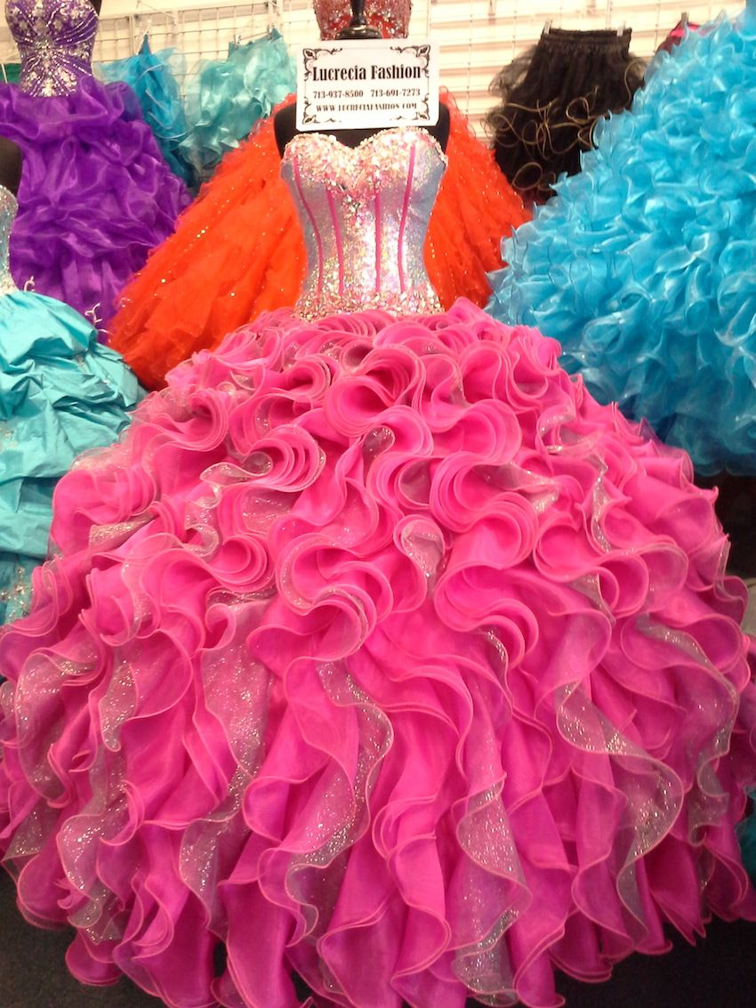 Lucrecia Fashion Houston   quinceañeras   Pinterest   Quinceañera