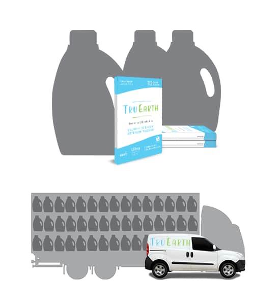Eco Strips Laundry Detergent Fresh Linen 32 Loads Eco