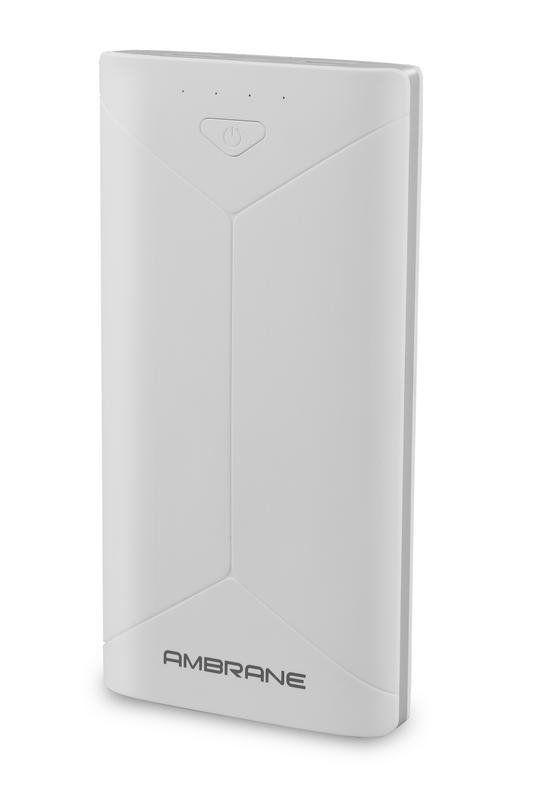 Ambrane Power Bank P2080 16000mAh White Powerbank