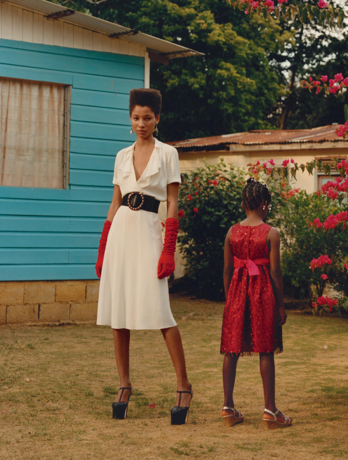 'Get Up Stand Up' Lineisy Montero by Jamie Hawkesworth for Vogue US June 2016