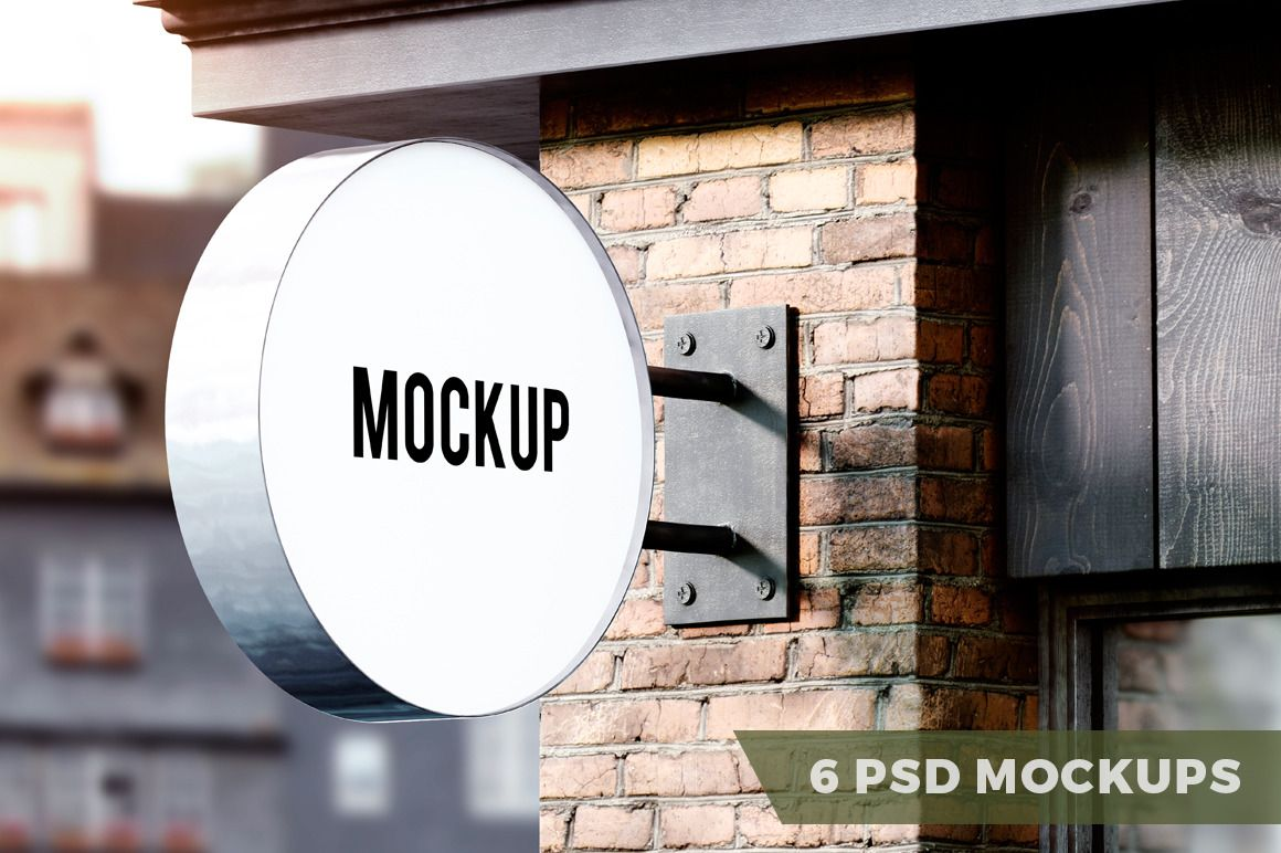 Download Signboard Mockups Letreros De Restaurantes Avisos En Acrilico Avisos Publicitarios
