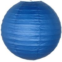 Paper Lantern - Royal Blue - 16""