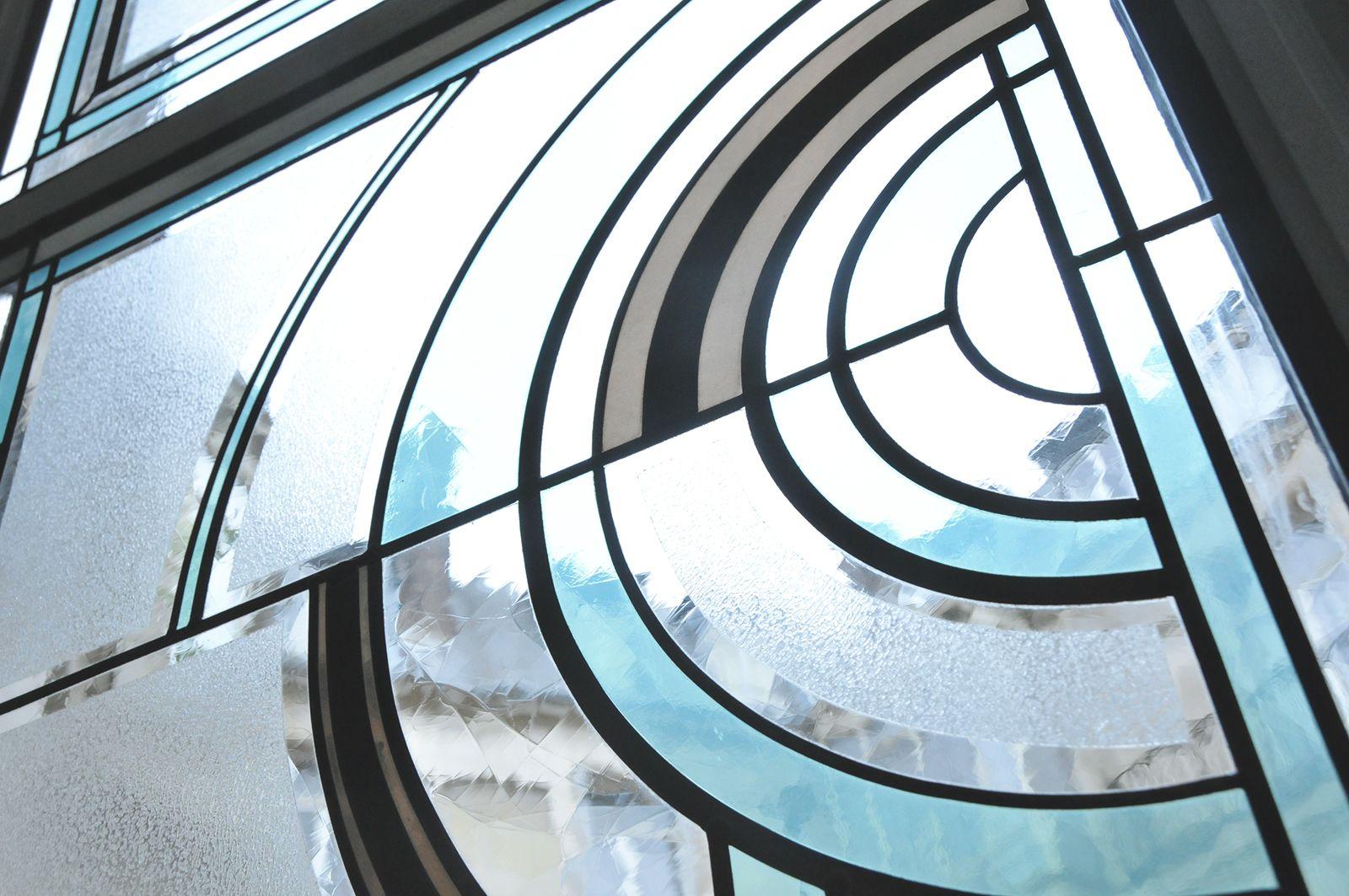 detail d 39 un motif art deco honky tonk vitrail art glass pinterest. Black Bedroom Furniture Sets. Home Design Ideas