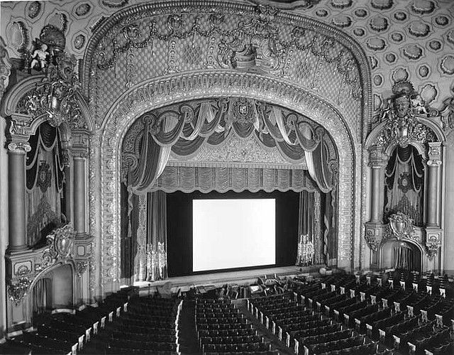 Los Angeles Theatre Auditorium And Stage Theatre Stage Classic