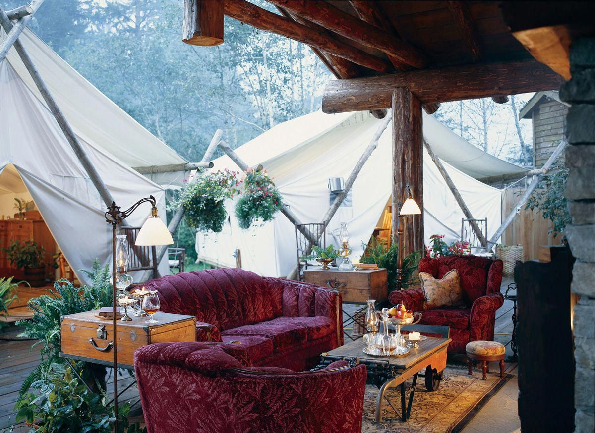Glamping at the Clayoquot Wilderness Resort Wilderness