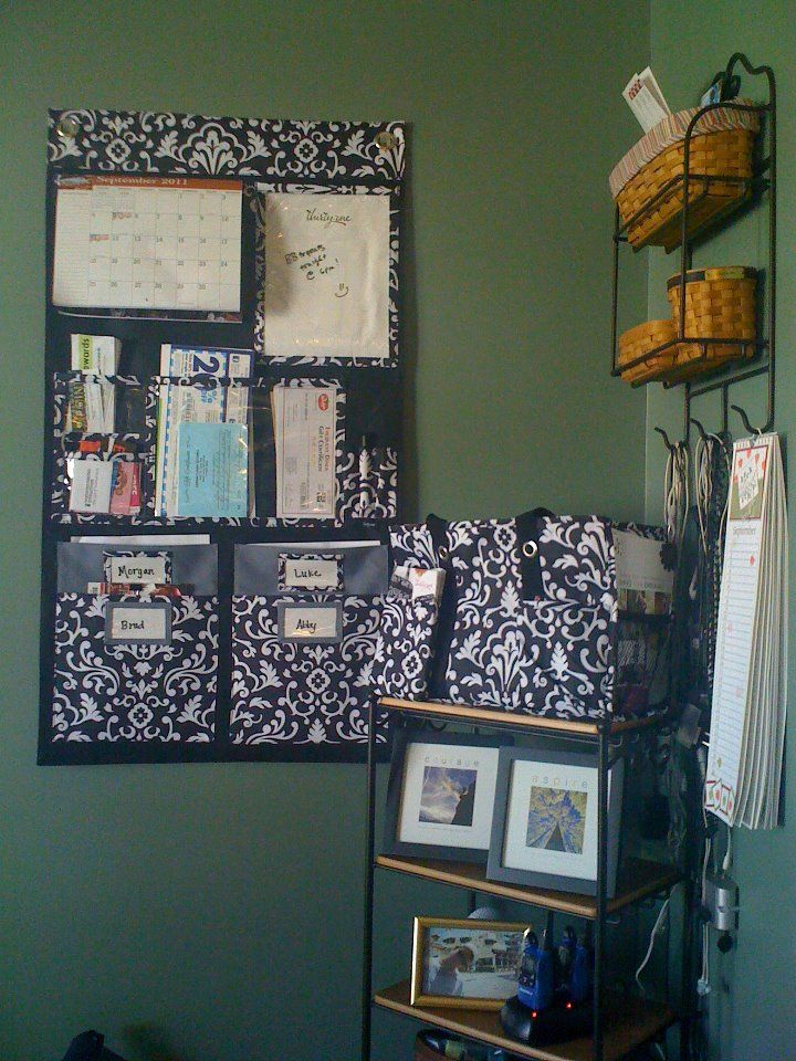 Hang Up Home Organizer From Thirty One Love It Lots Of Pockets