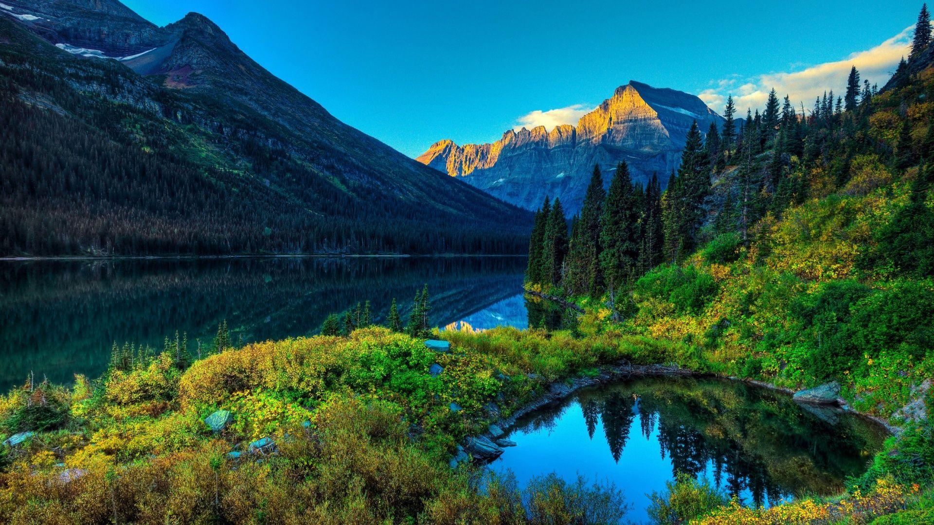 Mountain Scenery HD Wallpaper