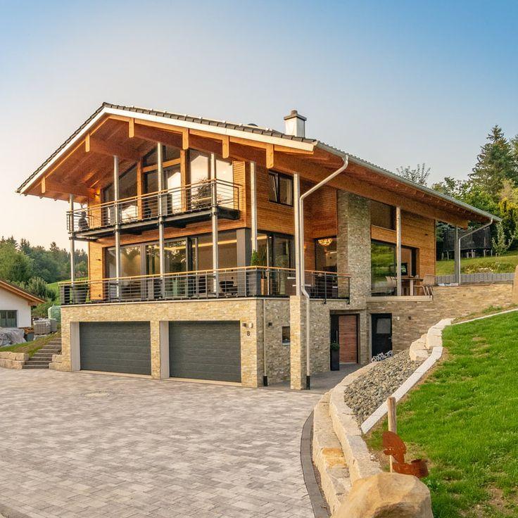 Photo of REFERENZEN – Heimatstyl Massivholzhaus, #Baustillandhaus #Heimat