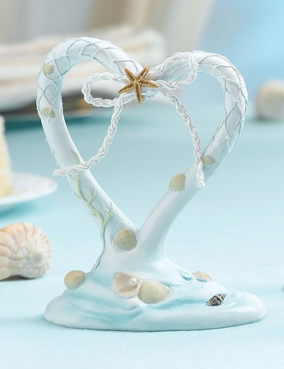 Beach Wedding Cake Topper Love And Marriage 3 Pinterest