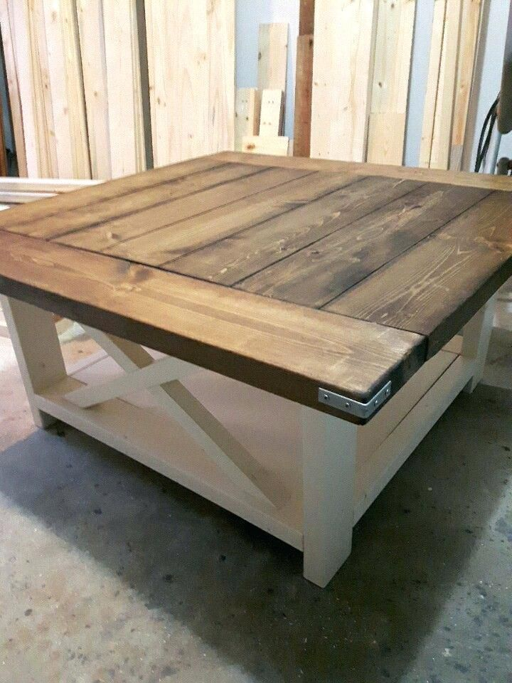 Image Result For Square Farmhouse Coffee Table Coffee Table Farmhouse Rustic Square Coffee Table Modern Farmhouse Coffee Table
