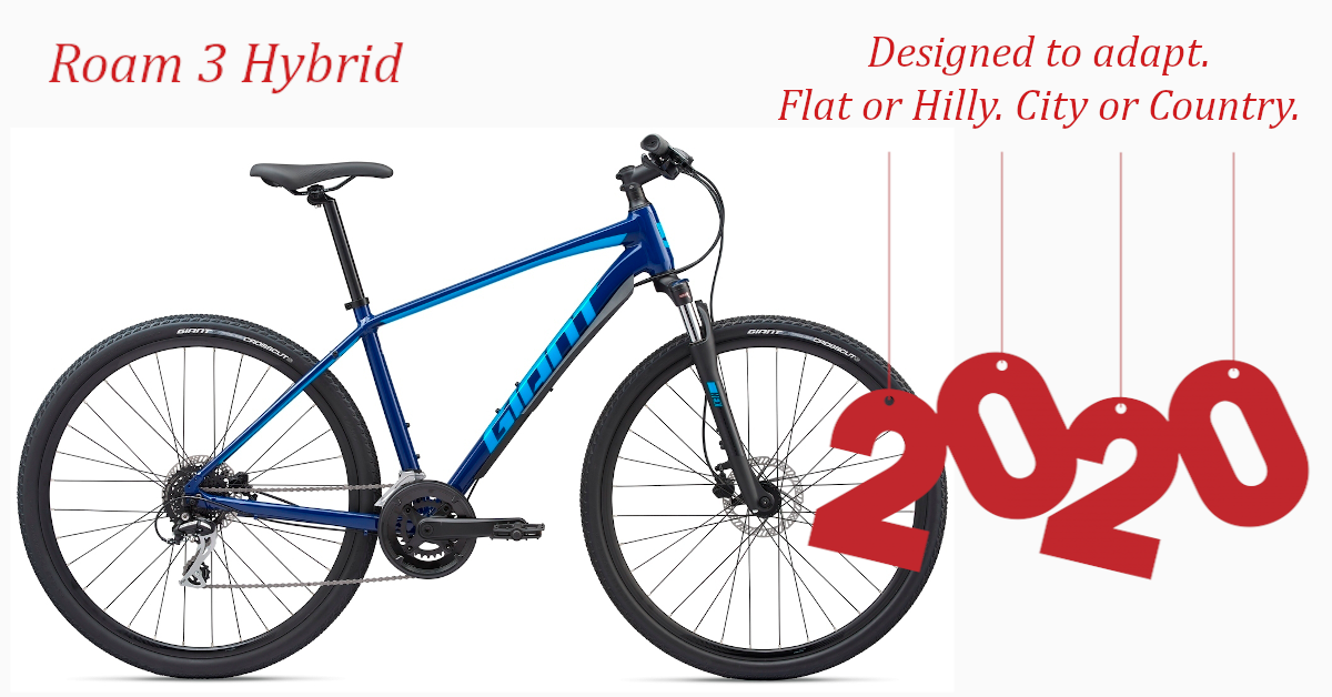 Giant Roam 3 2020 The Latest Mid Level Sports Hybrid From The Leading Brand In The Industry The Roam Concept Promotes A B In 2020 City Bike Road Bikes Hybrid Design