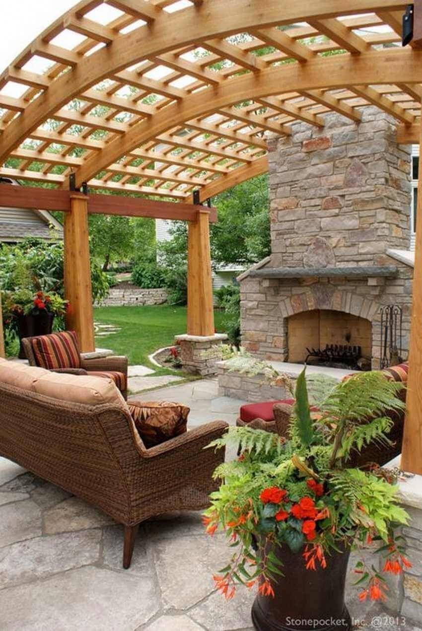 12 Pergola Patio Ideas That Are Perfect For Garden Lovers Amenagement Jardin Terrasse Piscine Pergola Terrasse Pergola