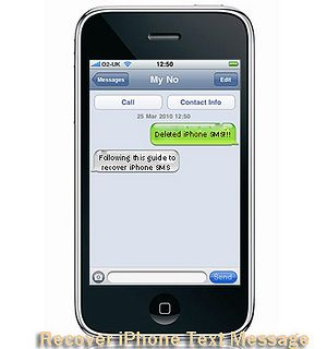 How Can I Recover Deleted Text Messages From Iphone Iphone Texts