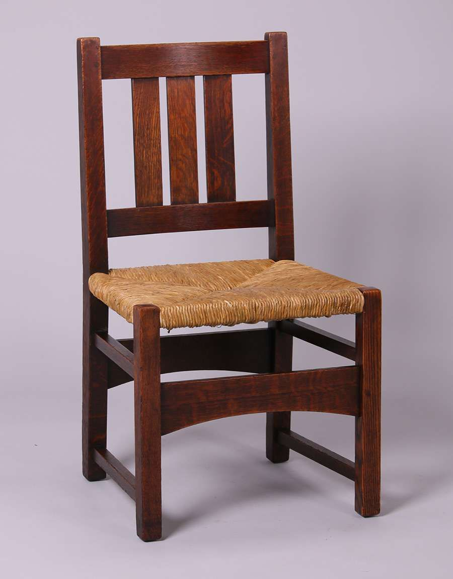 4 L Jg Stickley Dining Chairs Dining Chairs Craftsman Style