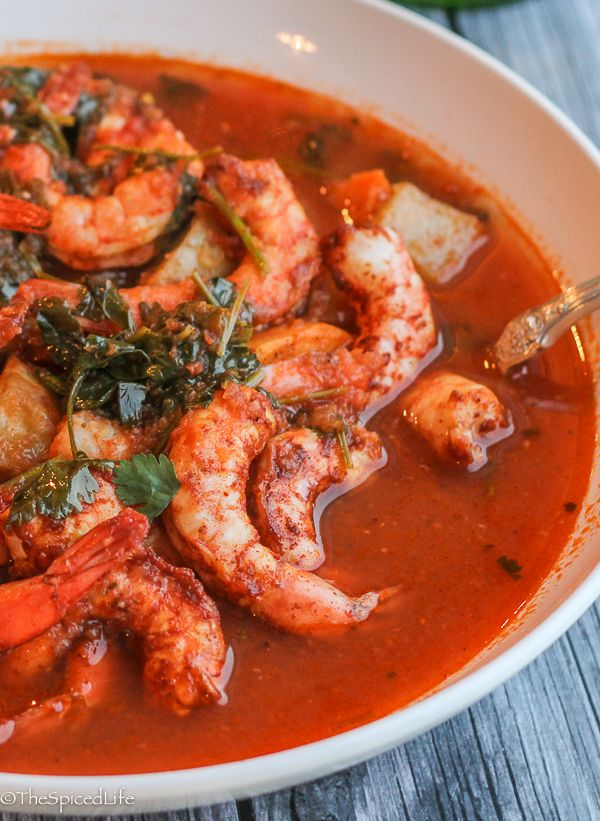 Mexican Spicy Roasted Shrimp and Potatoes Stew | Recipe | Recipes from Our Partners | Soup ...