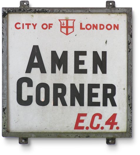 Vintage Homewares Decor Letters And Signs London Sign London City Street Signs