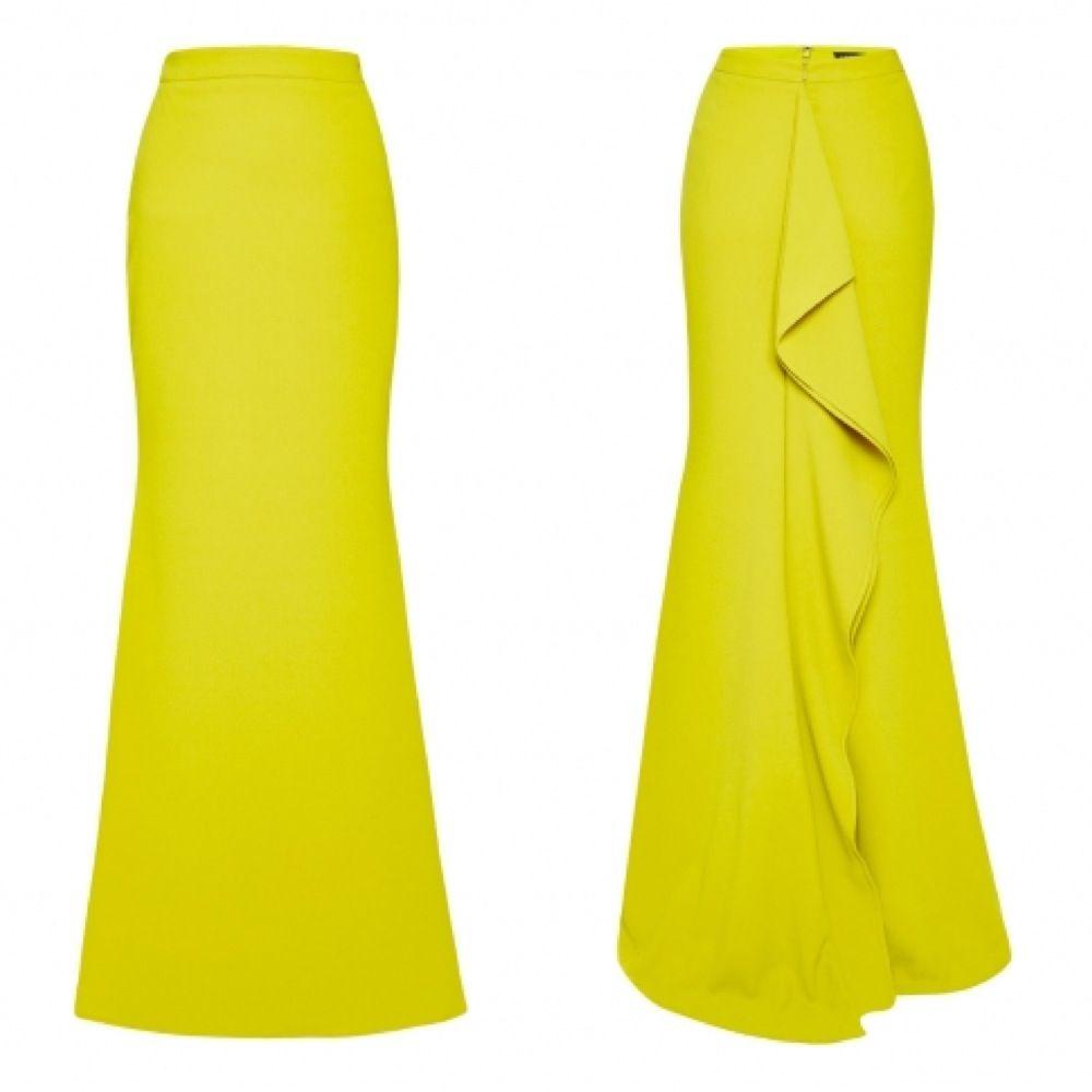 Bright Yellow Skirt 61