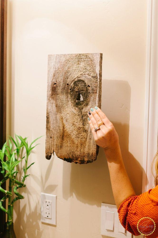 Easy DIY Bathroom Hand Towel Holder | Hand towels bathroom ...