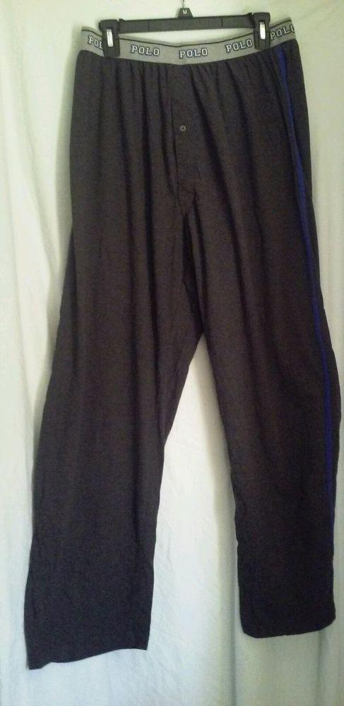 Polo Ralph Lauren Sleepwear Lounge Pants Mens Size XL Extra Large   RalphLauren  LoungePants 6714981ecd9