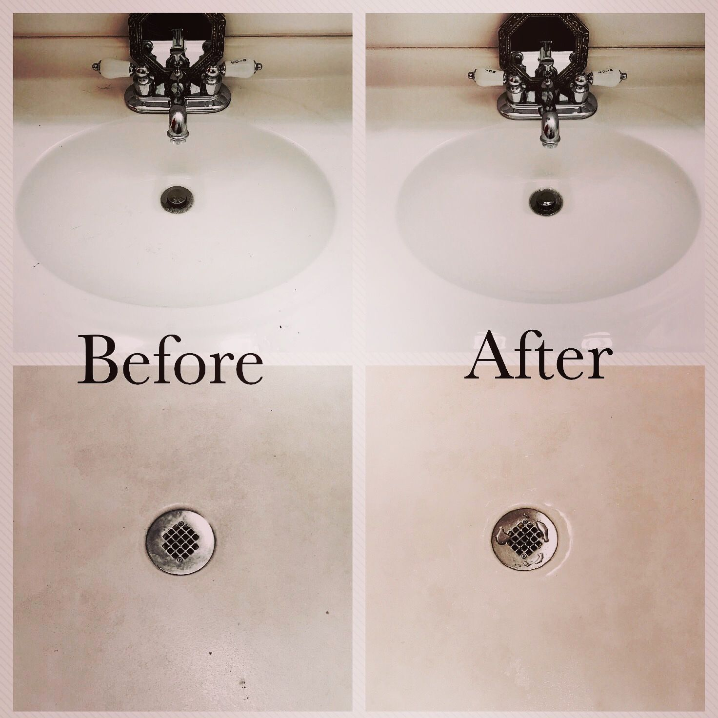 Beau #freesample I Used Kaboom No Drip Mildew U0026 Mold Stain Remover With Bleach  On Multiple Surfaces In My Bathroom. I First Used It On My Sink.