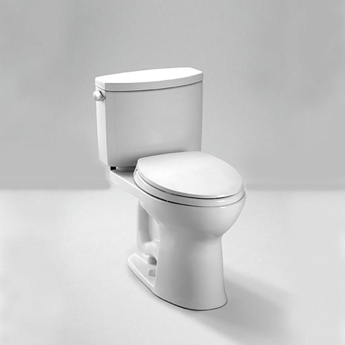 Toto High Efficiency Toilet- Toto Drake II Close Coupled Toilet ...