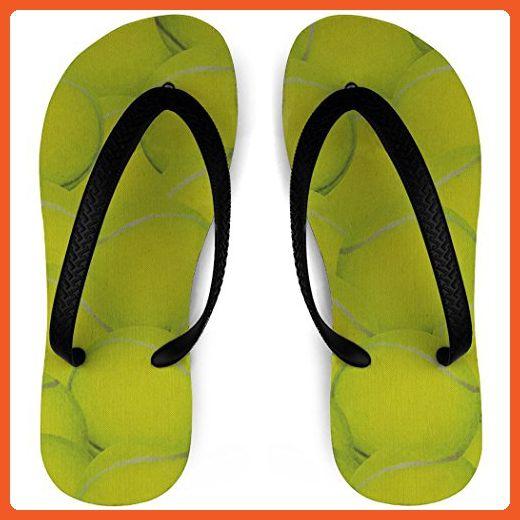 f647948e0cae Tennis Flip Flops Tennis Ball Background - Athletic shoes for women  ( Amazon Partner-