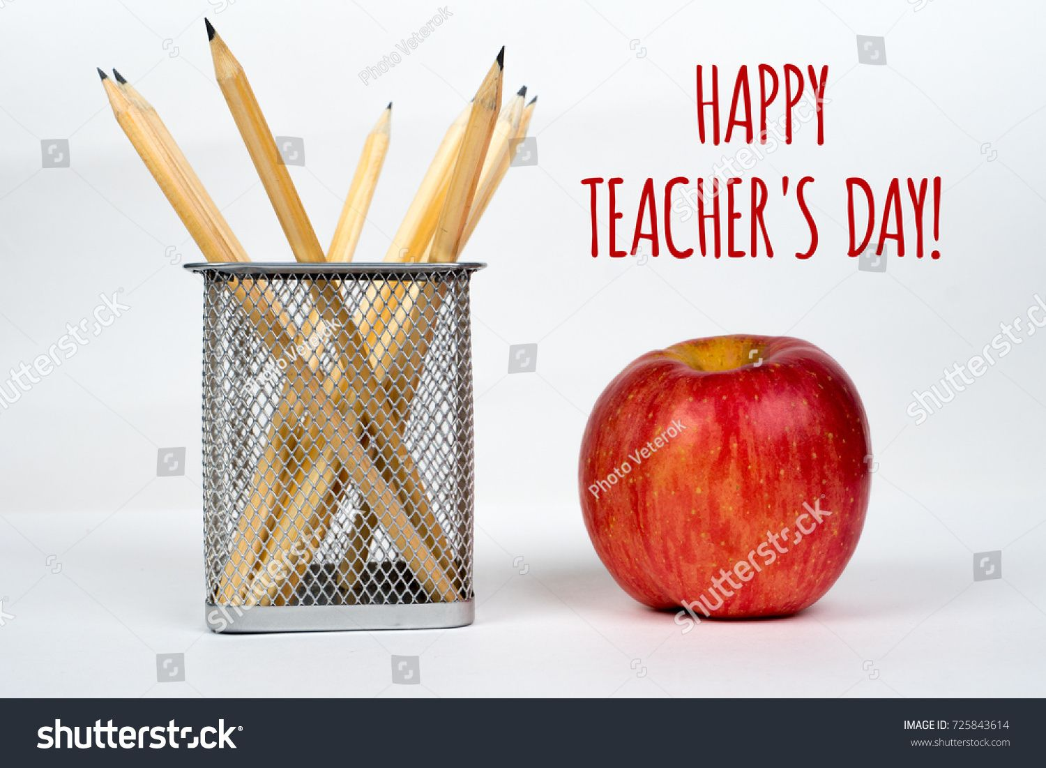 Happy Teacher S Day Simple Greetings Card With White Background Ad Ad Day Teacher Happy In 2020 Happy Teachers Day Preschool Newsletter Templates Teachers Day