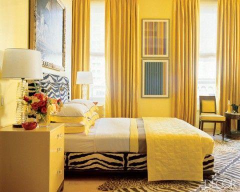 Dormitorio de matrimonio amarillo recamara pinterest for Colores para recamaras 2016