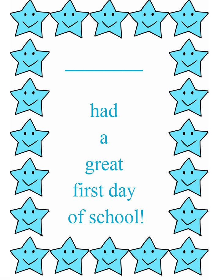 backtoschool free printable certificates, back to school kids wall ...