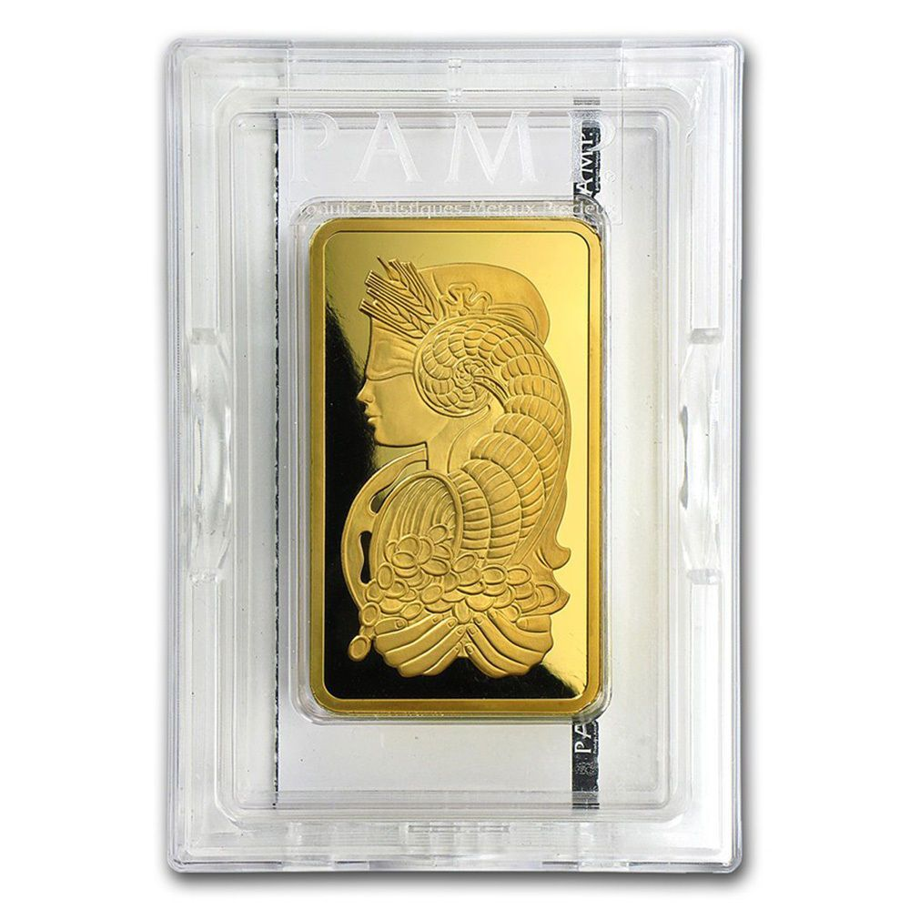 Details About 10 Oz Gold Bar Pamp Suisse Fortuna 999 9 Fine In Sealed Assay Gold Bar Fortuna Gold Bars For Sale