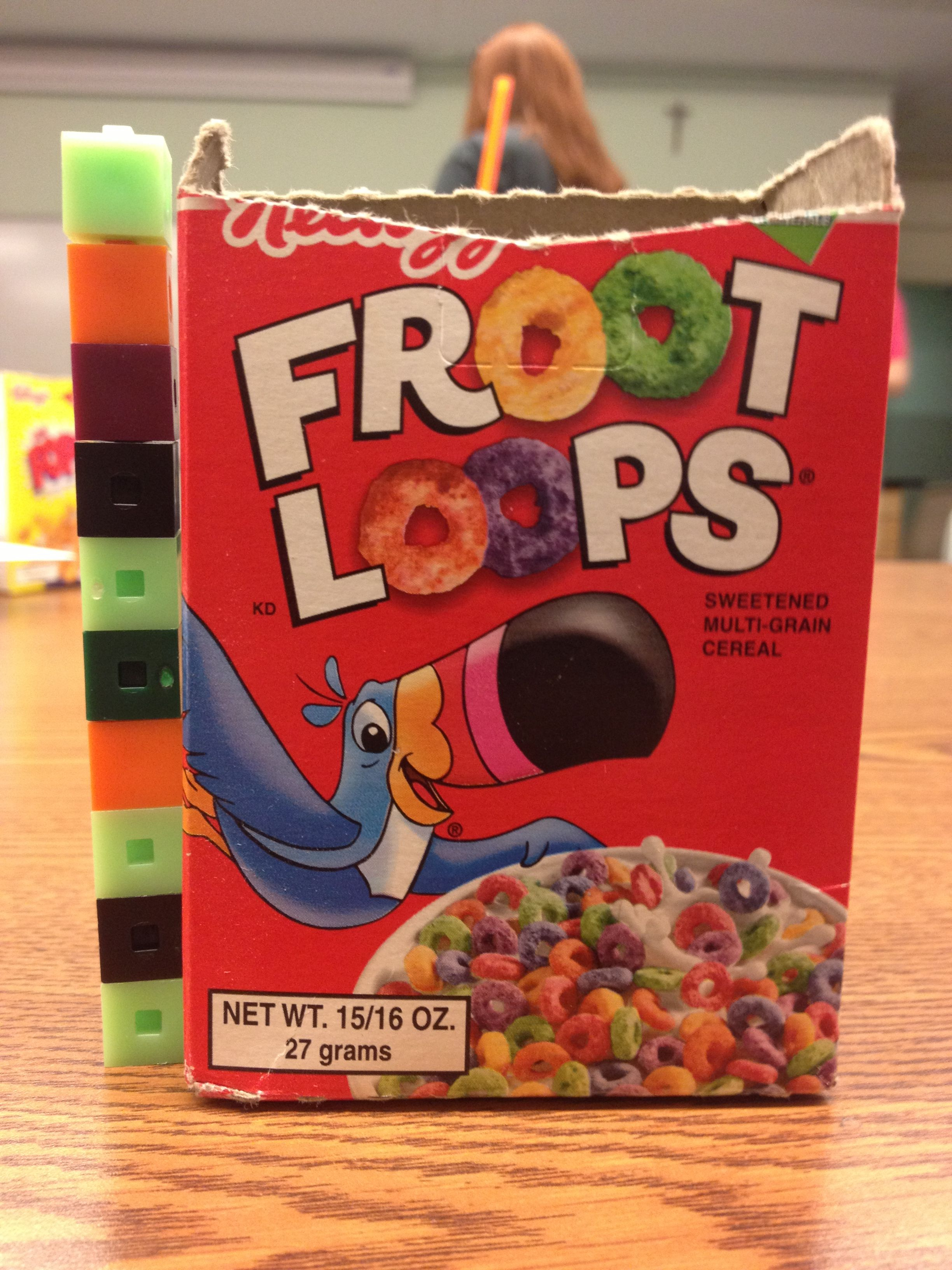 You Can Use Small Cereal Boxes And 1 Cubic Centimeter