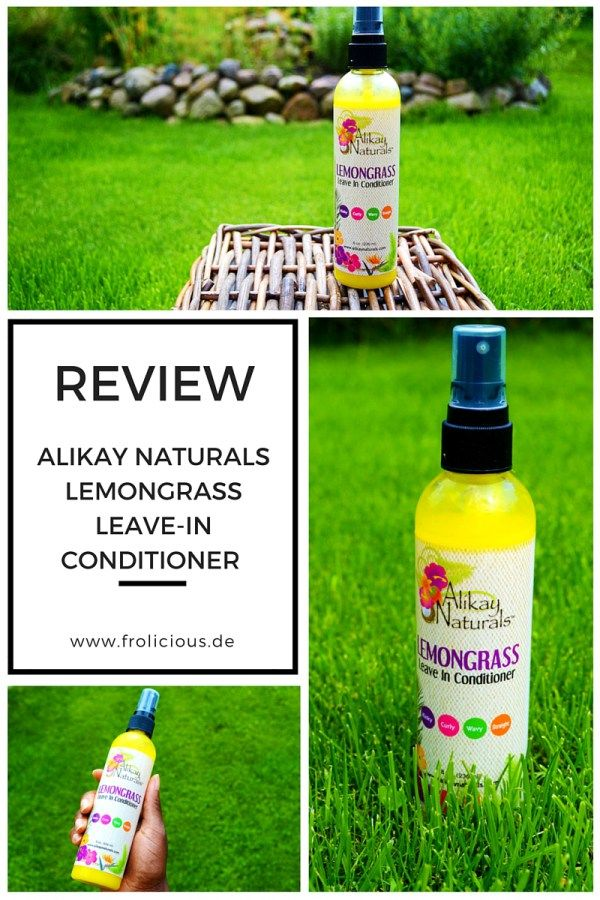 Review Alikay Naturals Lemongrass LeaveIn Conditioner